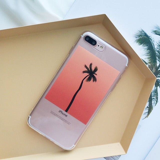 Tropical Trees IPhone Case - Modern Charme.