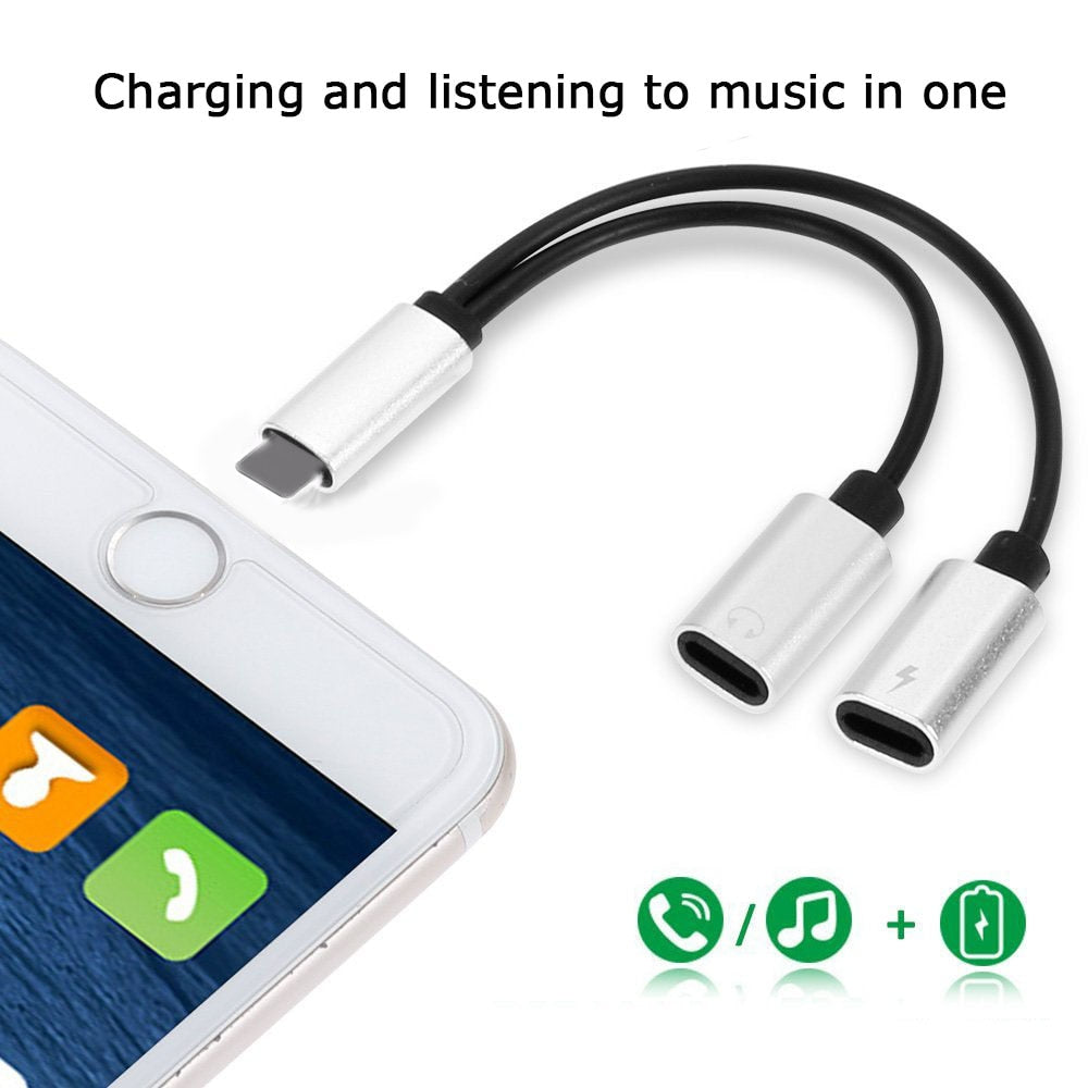 2 in 1 Earphone Charging Converter - Modern Charme.