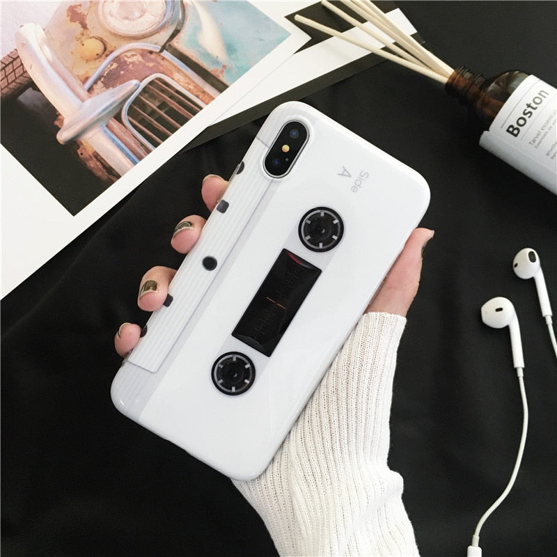 Music Cassette IPhone Case - Modern Charme.