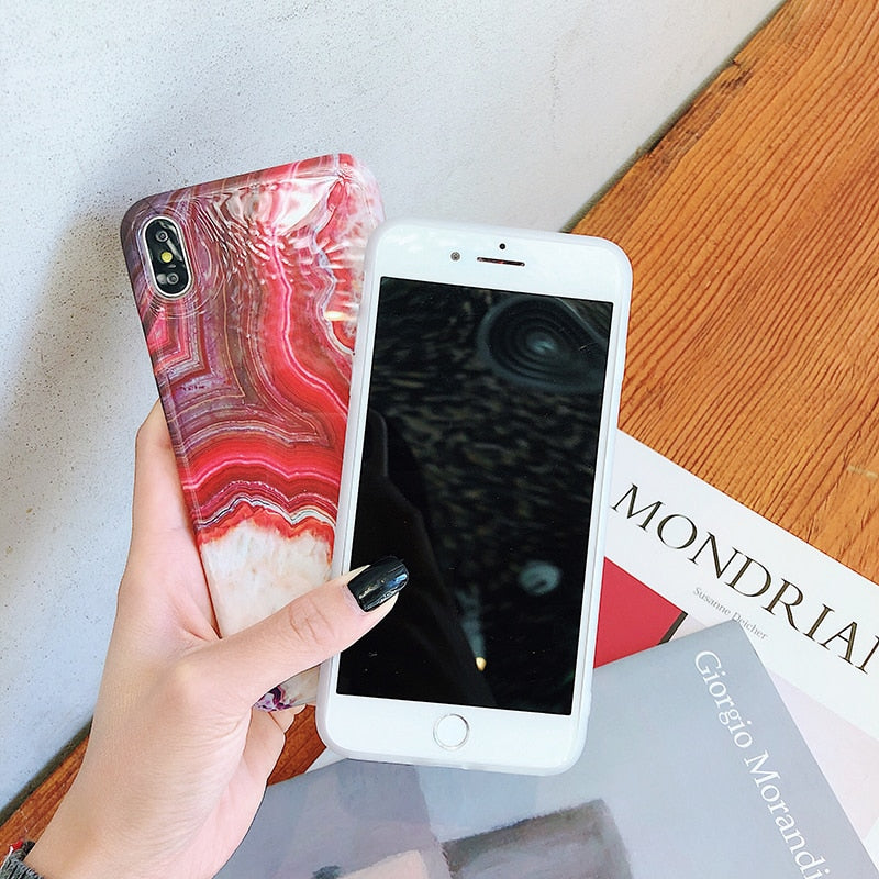 Candy Marble IPhone Case - Modern Charme.