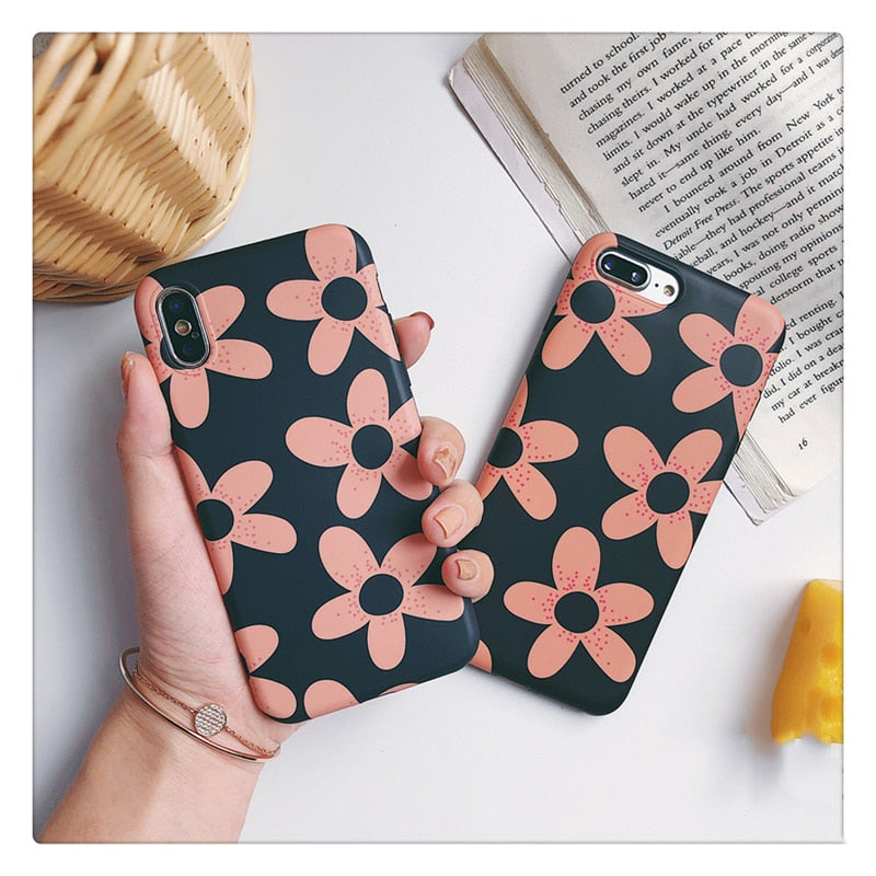 Pink Daisies IPhone Case - Modern Charme.