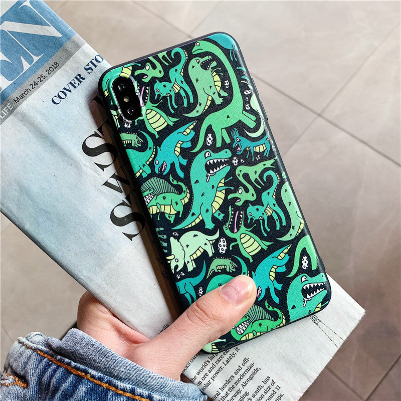 Cartoon Dinosaurs IPhone Case - Modern Charme.