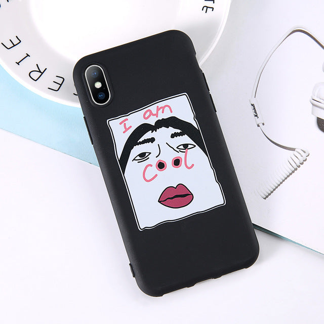 I Am Cool IPhone Case - Modern Charme.