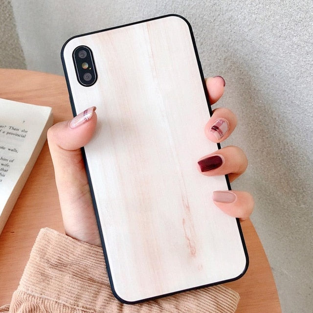 Wood Grain IPhone Case - Modern Charme.