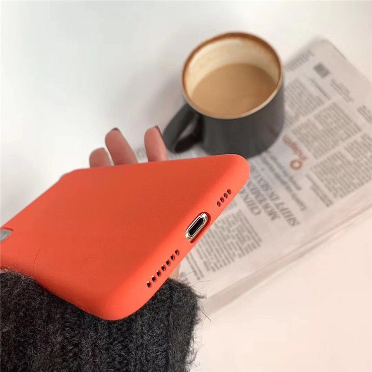 Retro Orange IPhone Case - Modern Charme.