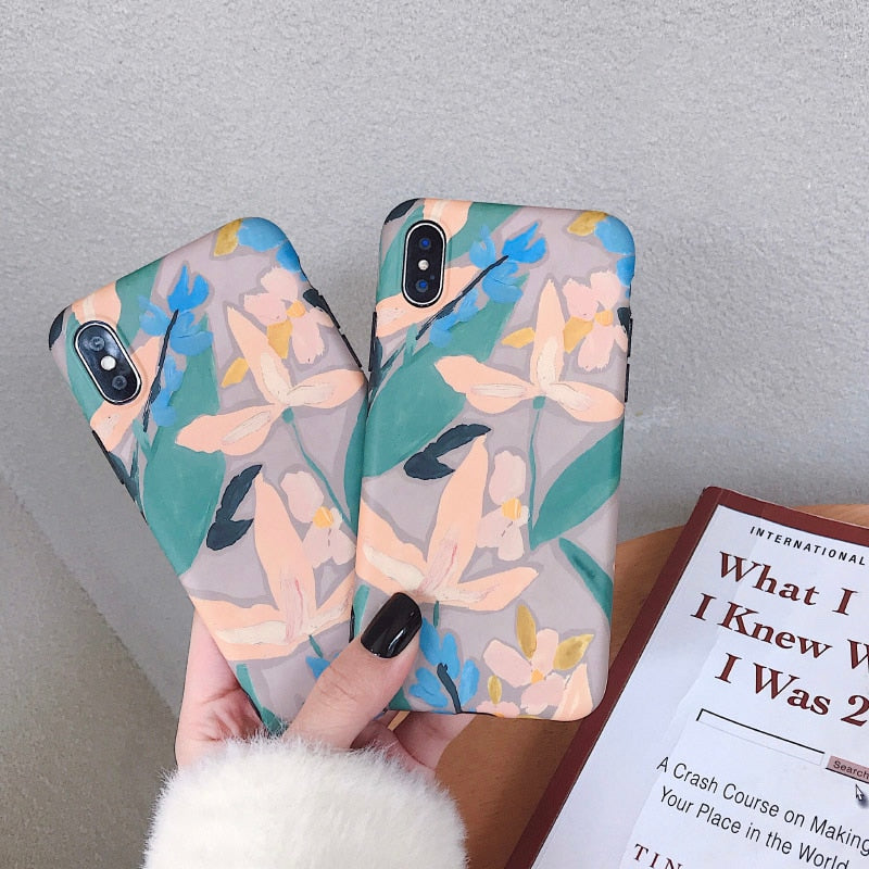 Floral Oil Painting IPhone Case - Modern Charme.