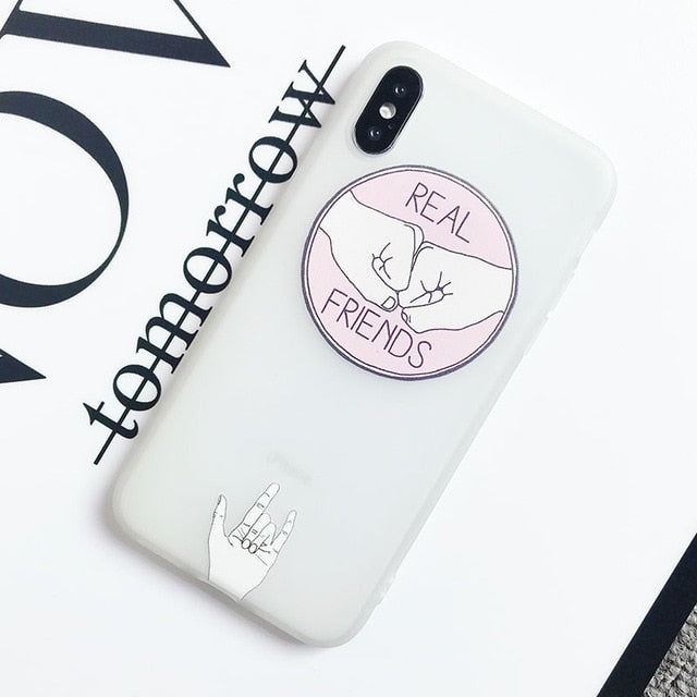 Real Friends IPhone Case - Modern Charme.