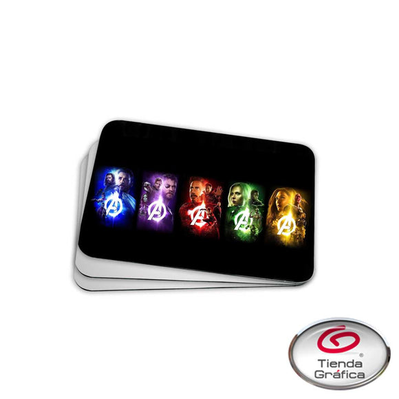 Mouse Pads Avengers Gemas
