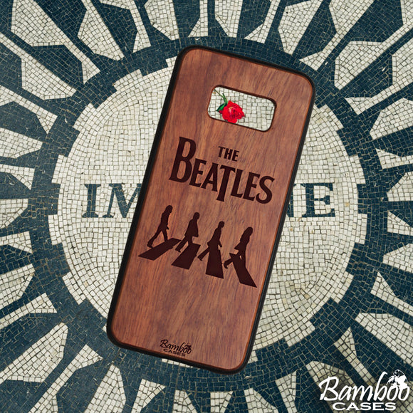 Funda para celular The beatles