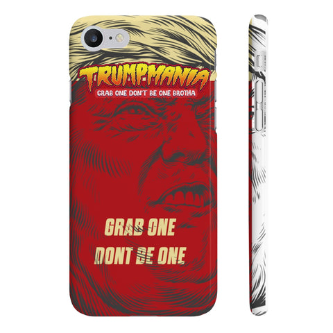 Trumpmania Hulk Hogan Donald Trump Wrestler Phone Case