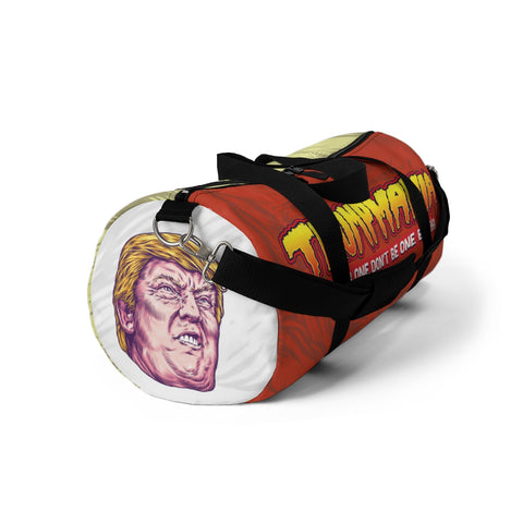 Trumpmania Donald Trump Hulk Hogan Style Wrestler Duffle Bag