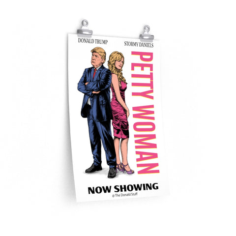 "Petty Woman Funny ""Pretty Woman"" Movie Poster"