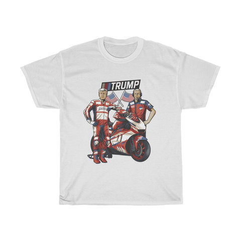 Trump And Pence SportBike Racing Team T-Shirt