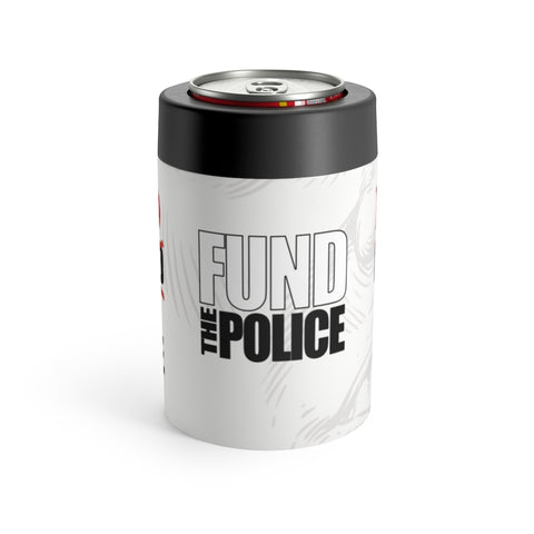 The Defend The Police Don't Defund The Police Stainless Steel Koozie