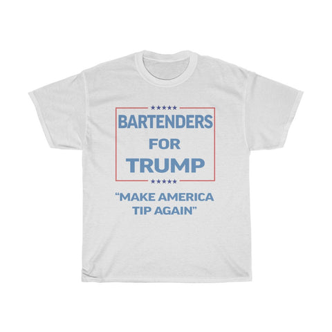 Bartenders For Trump COVID-19 Relief Charity T-Shirt
