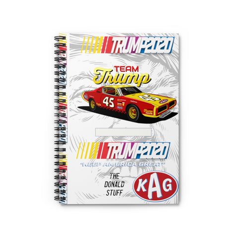 Team Trump 2020 KAG Racing Team Notebook