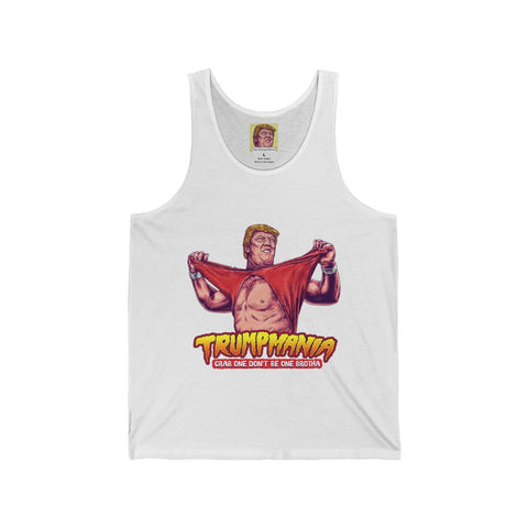 The Official #TRUMPMANIA President Donald Trump Wrestling Tank Top