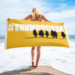 Trump Posse #Trumpposse Awesome Political Beach Towel