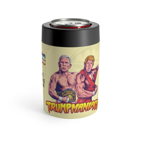Trumpmaniacs Tag Team Trump And Pence Stainless Steele Koozie