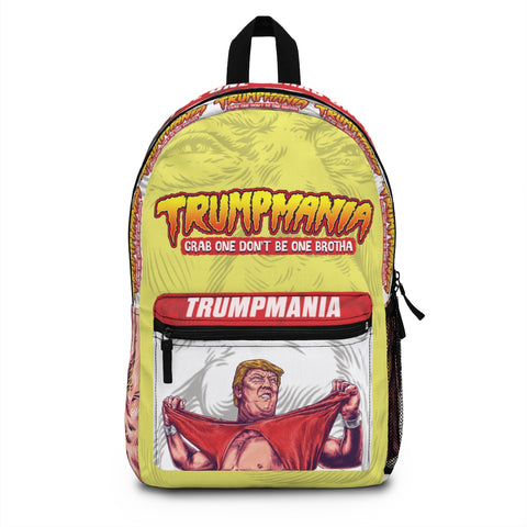 The Donald Trump Grab One Don't Be One Trumpmania Back Pack