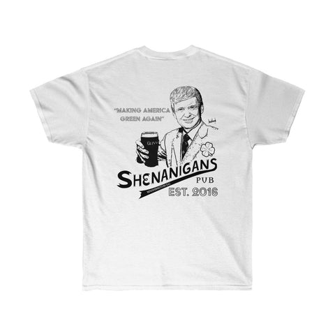Saint Patrick's Day President Donald Trump Funny Shenanigan's Irish Pub Shirt