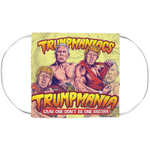 Trumpmania Tag Team Trump And Pence Face Mask Covers