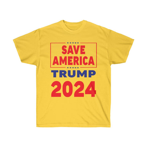 Save America Donald Trump 2024 Campaign T-Shirt