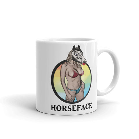 Hilarious Stormy Daniels Horseface Political Coffee Mug
