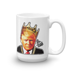 Le Don Funny Donald Trump King with Crown Political Mug