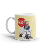 Space Force Donald Trump Astronaut Coffee Mug