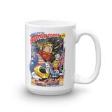 United States Space Force Funny Trump and Pence Political Humor Mug