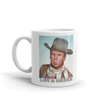 Law And Order President Sheriff Donald Trump Mug