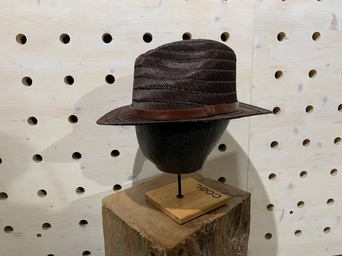 MESSER STRAW FEDORA