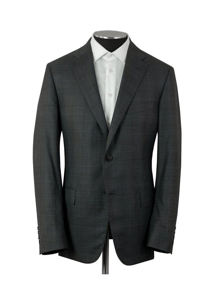 Dark Grey Plaid Tasmanian Super 170s Suit