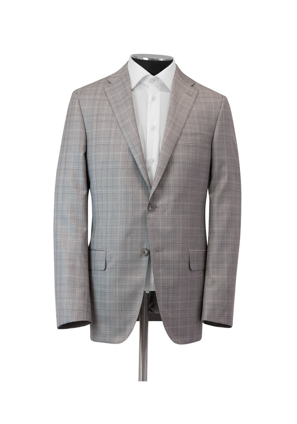 Taupe Plaid Tasmanian Suit
