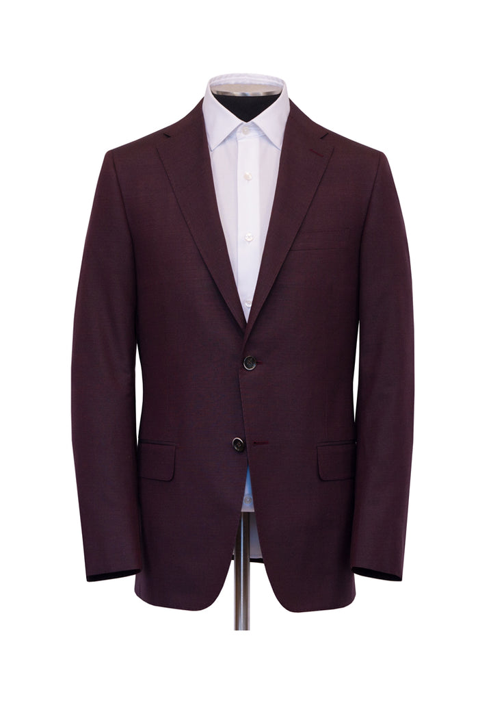 Burgundy Silk Dinner Jacket