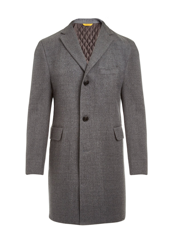 Double-Faced Wool Traveler Coat