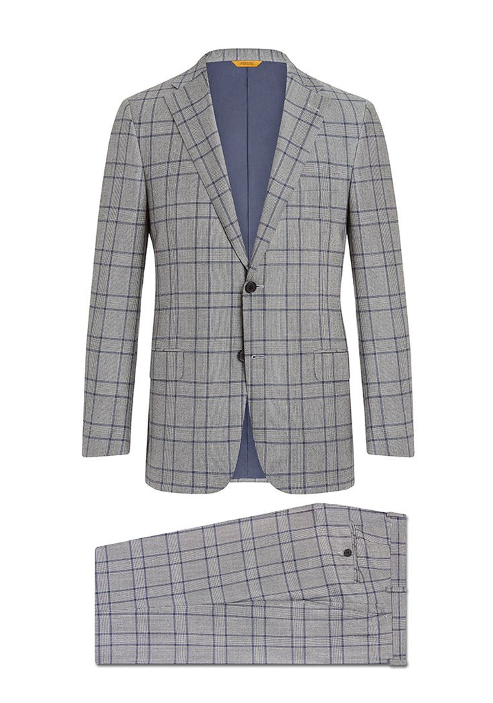 Plaid Flannel Traveler Suit