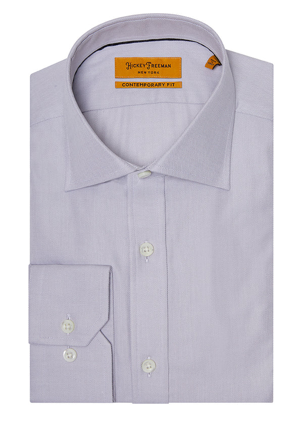 Grey Oxford Dress Shirt