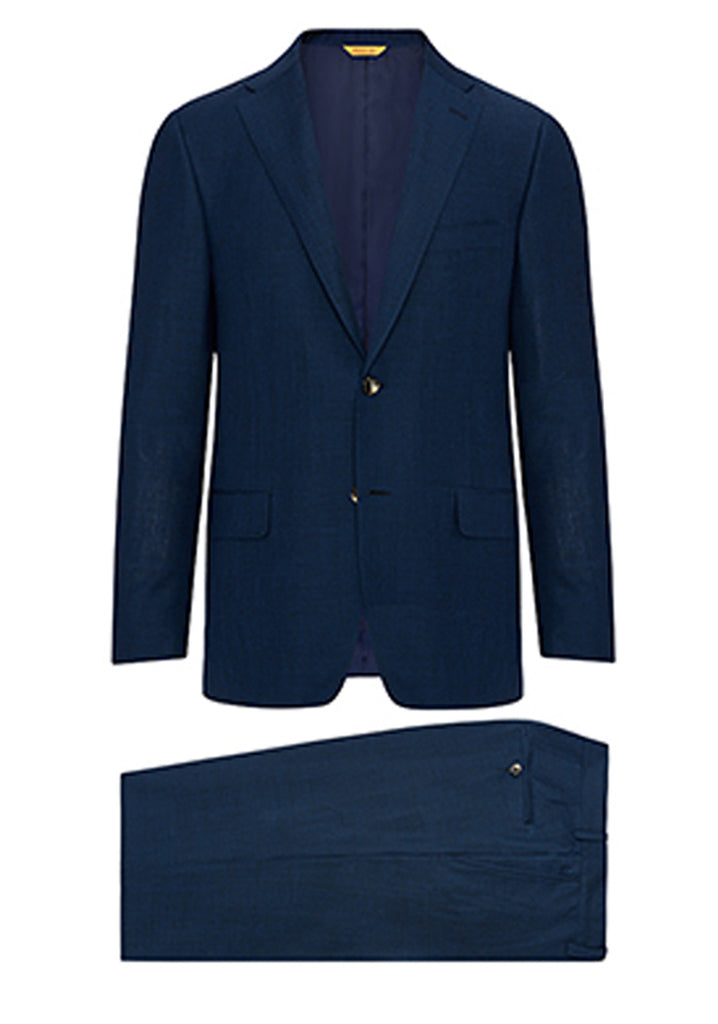 Blue Wool Mohair Suit