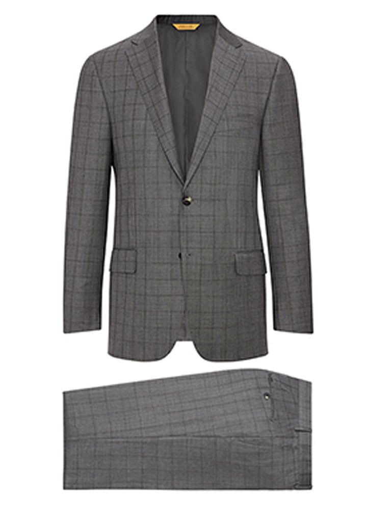 Grey Check Tasmanian Suit