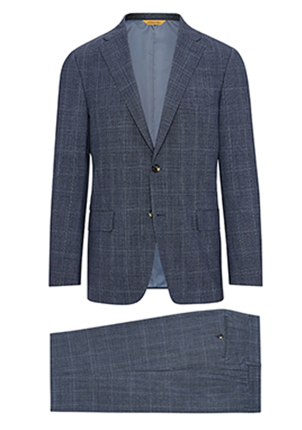 Grey Plaid Tasmanian Travel Suit