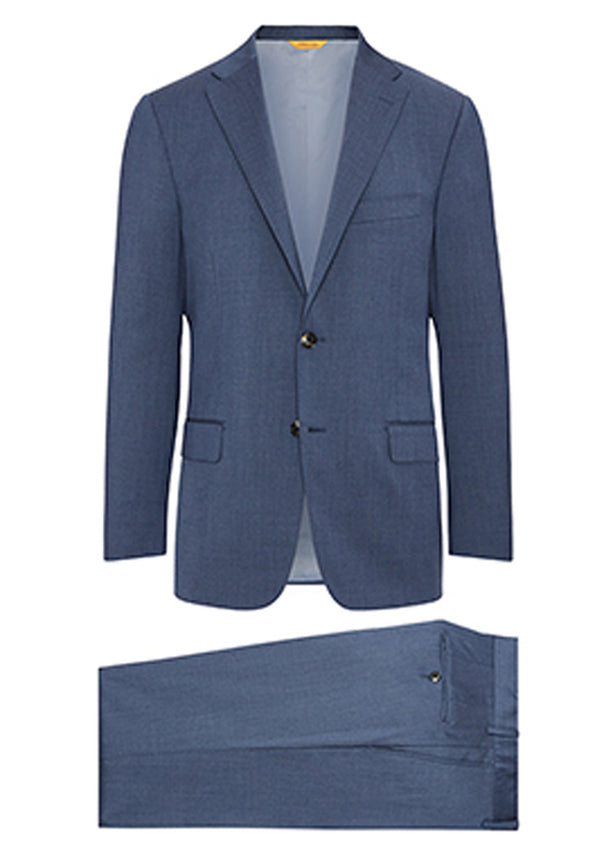 Slate Blue Four Seasons Suit - H