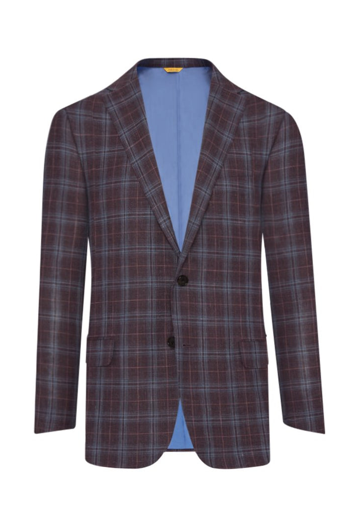 Multi Color Glen Check Jacket