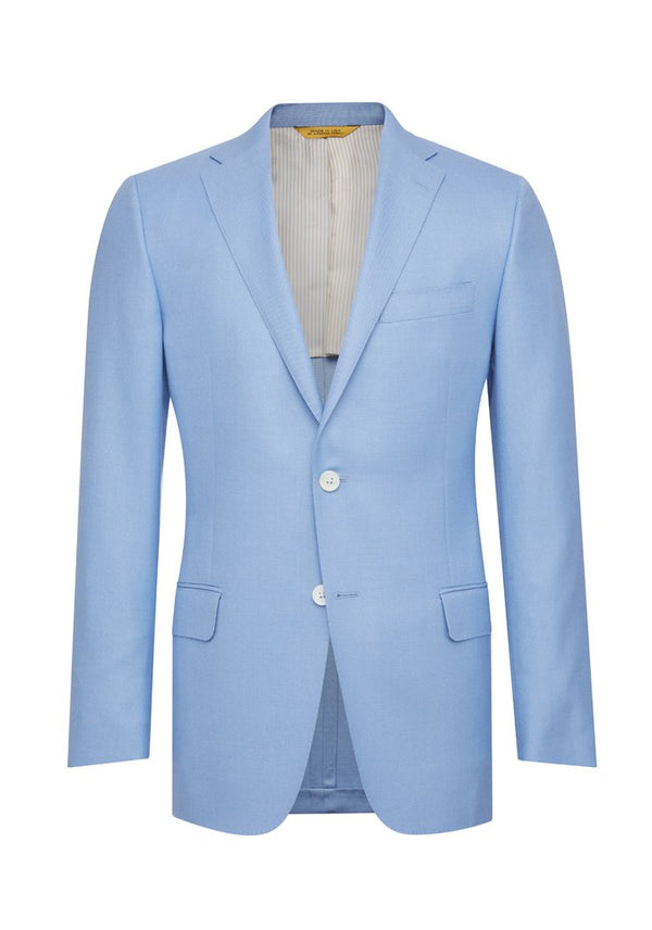 Light Blue American Silk Jacket