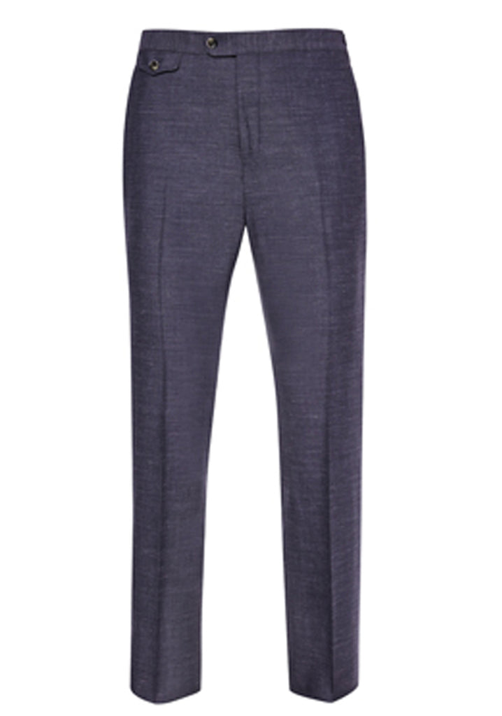 Blue Soft Luxe Trousers