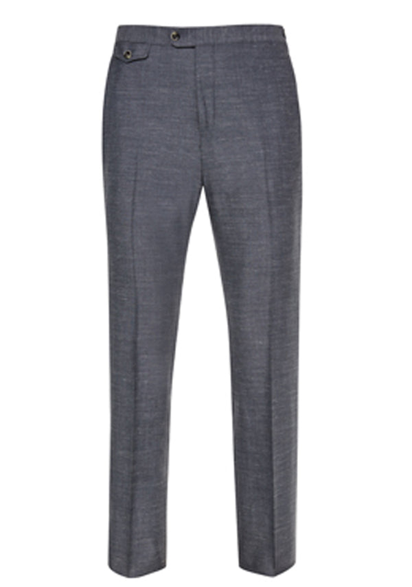 Grey Soft Luxe Trousers