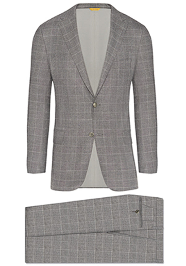 Black/White Plaid Tasmanian Suit