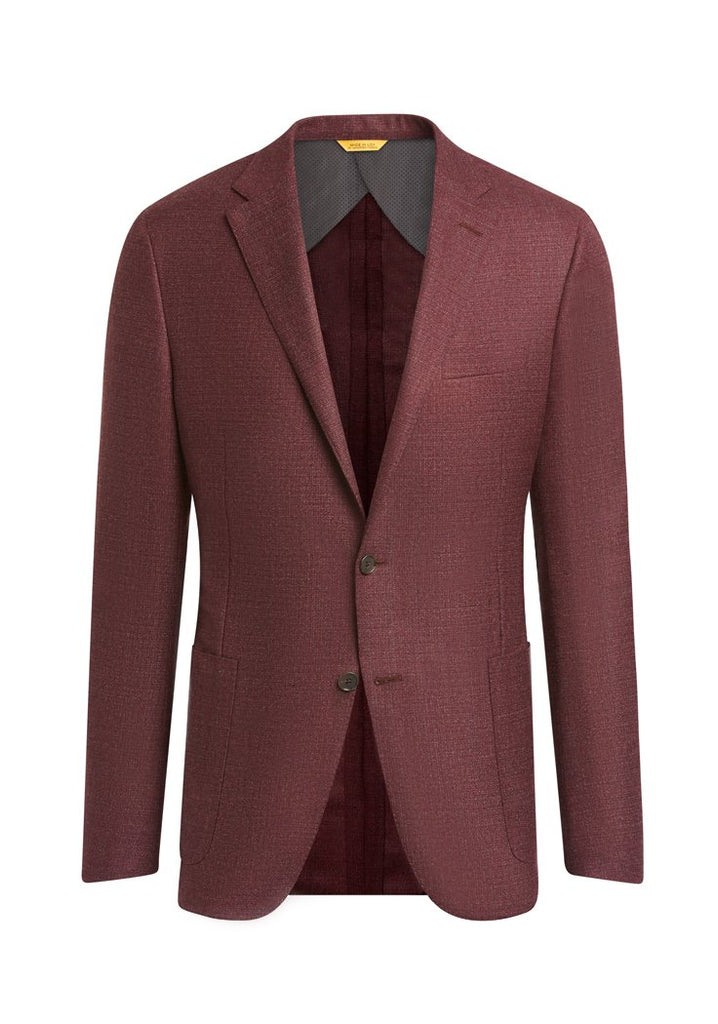 Burgundy Touch of Silk Weightless Jacket