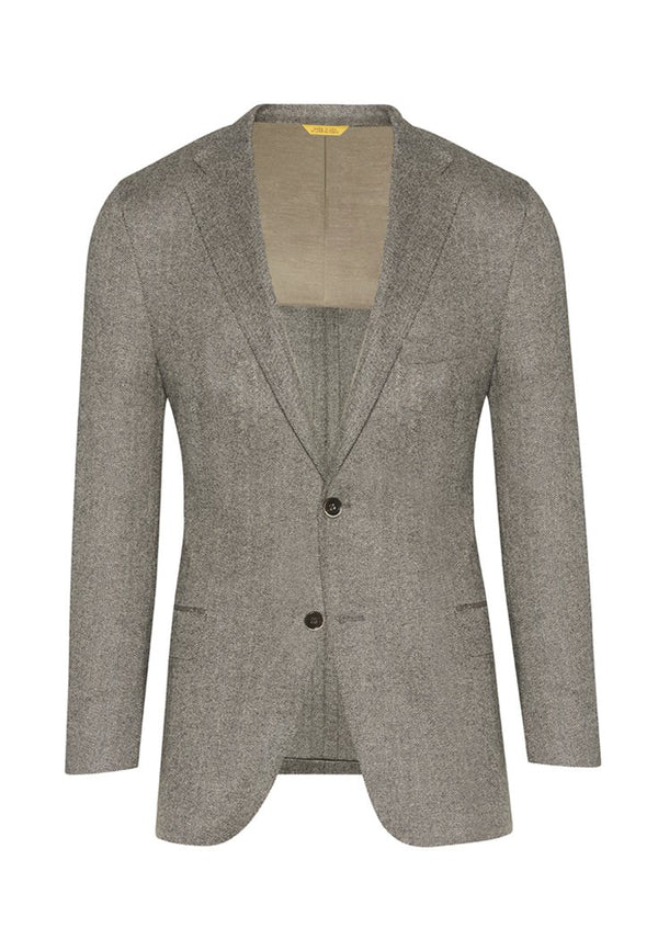 Black/White Herringbone Touch of Cashmere Jacket